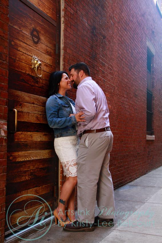 Amanda and John Richard's Salem, Ma Engagement Session